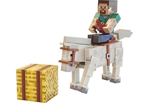 Minecraft Steve con Cavallo ed Accessori
