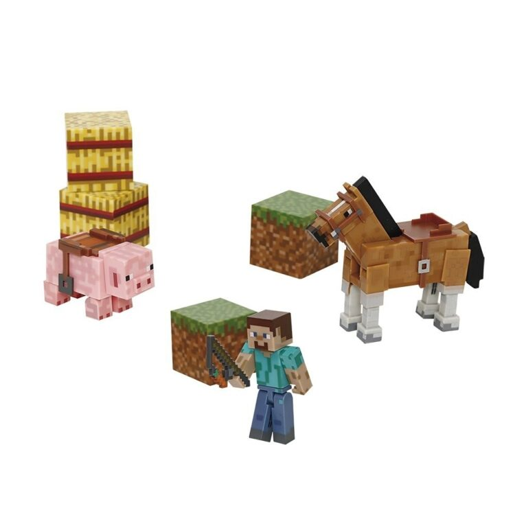 Minecraft Saddle Pack