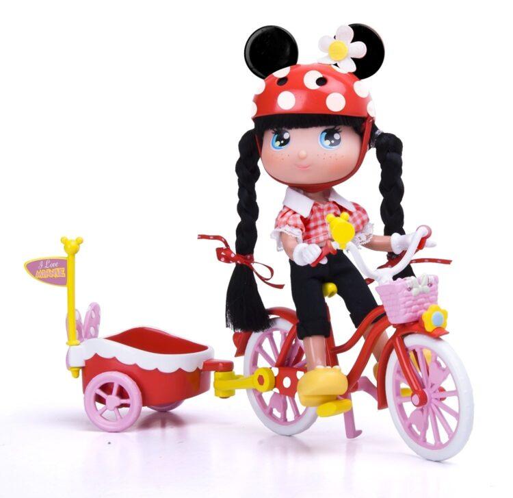 I love Minni La Bicicletta