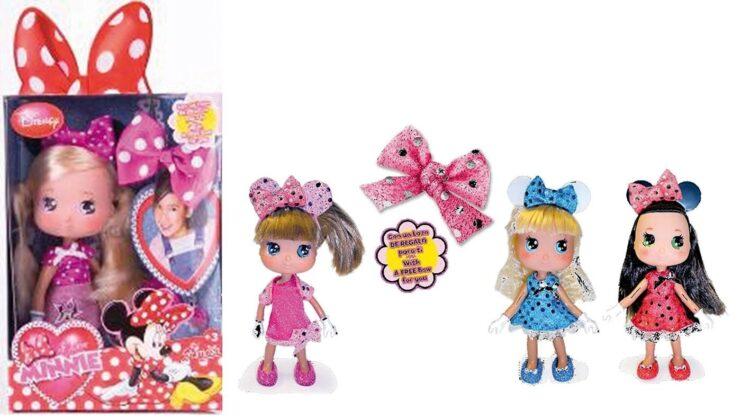 I Love Minnie Bambolina Fashion Glitter