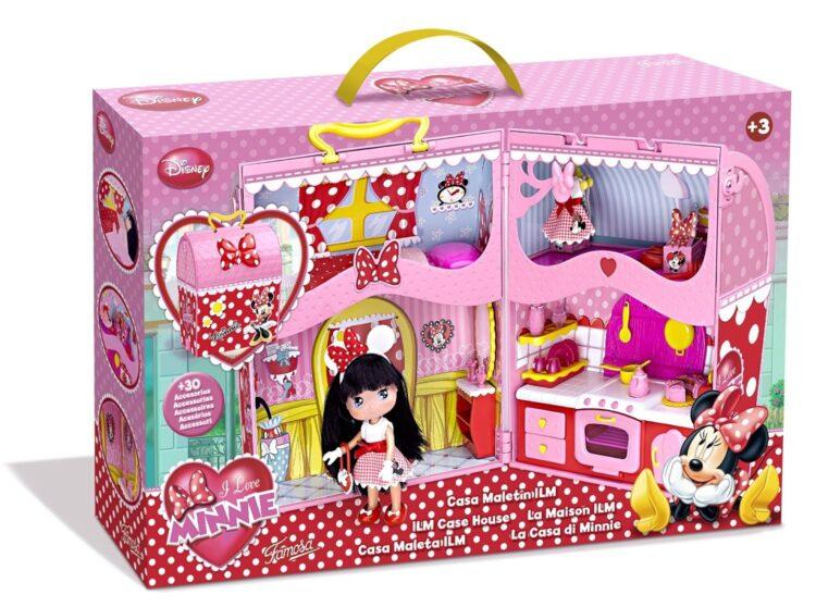 I love Minnie la casa valigetta