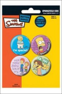 Set 4 spillette I Simpson