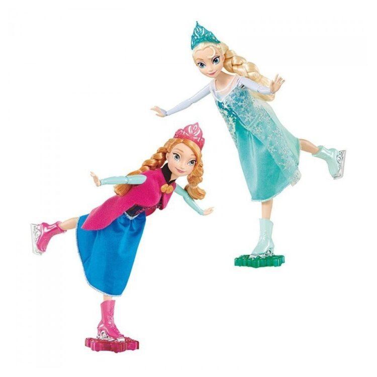 Anna ed Elsa Danza sul ghiaccio