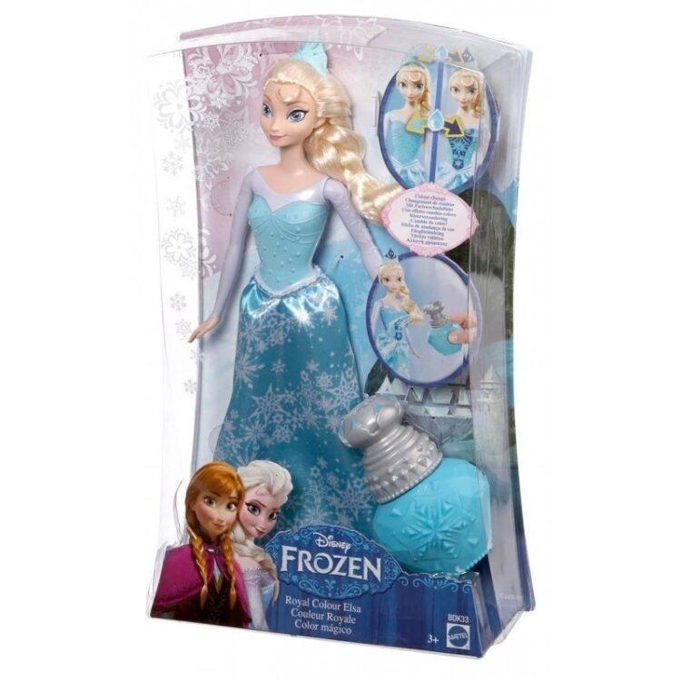 Bambola cambiacolore Disney Frozen