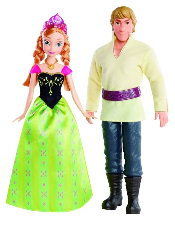 Disney Frozen - Set 2 bambole Anna e Kristoff
