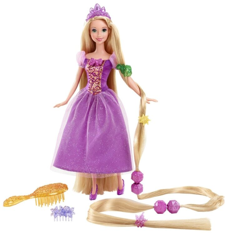 Rapunzel Capelli d'Incanto Disney