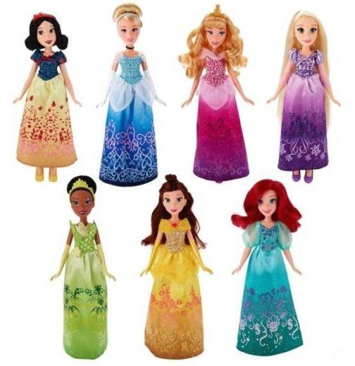Set 8 Principesse Disney