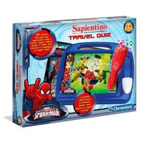 Sapientino Travel Quiz Spiderman