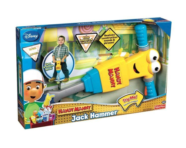 Jack Hammer il martello pneumatico di Handy Manny