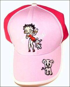 Cappellino con visiera Betty Boop