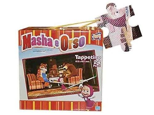 Tappeto puzzle Masha e Orso 24 PZ