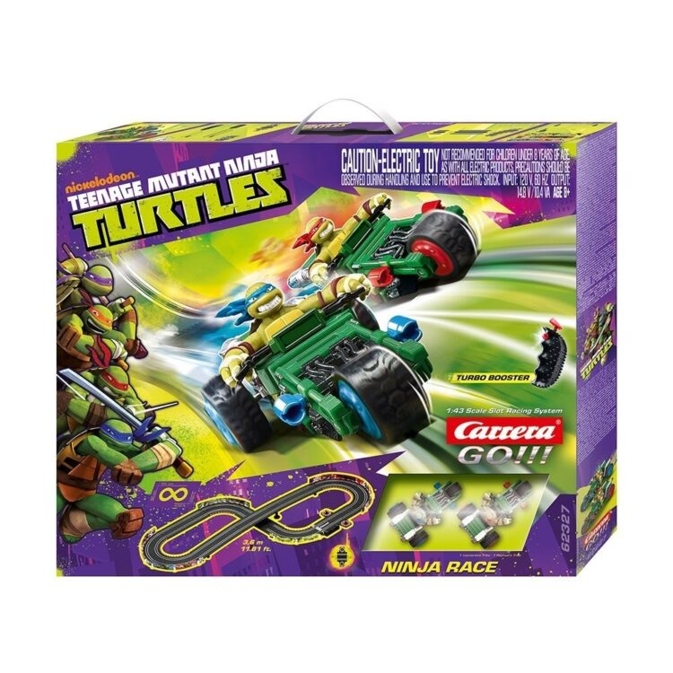 Pista elettrica Ninja Turtles