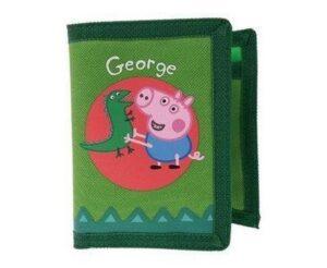 Portafogli Peppa Pig George & il Dinosauro
