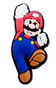 Pins per crocs o braccialetti Super Mario