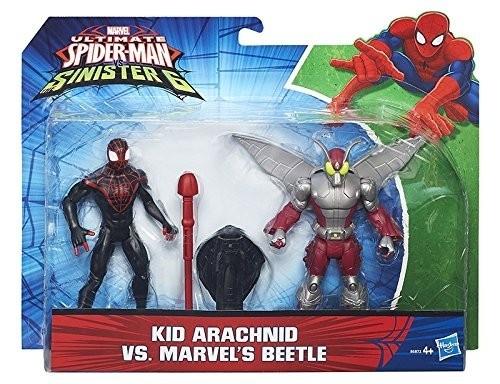 Spiderman con nemico