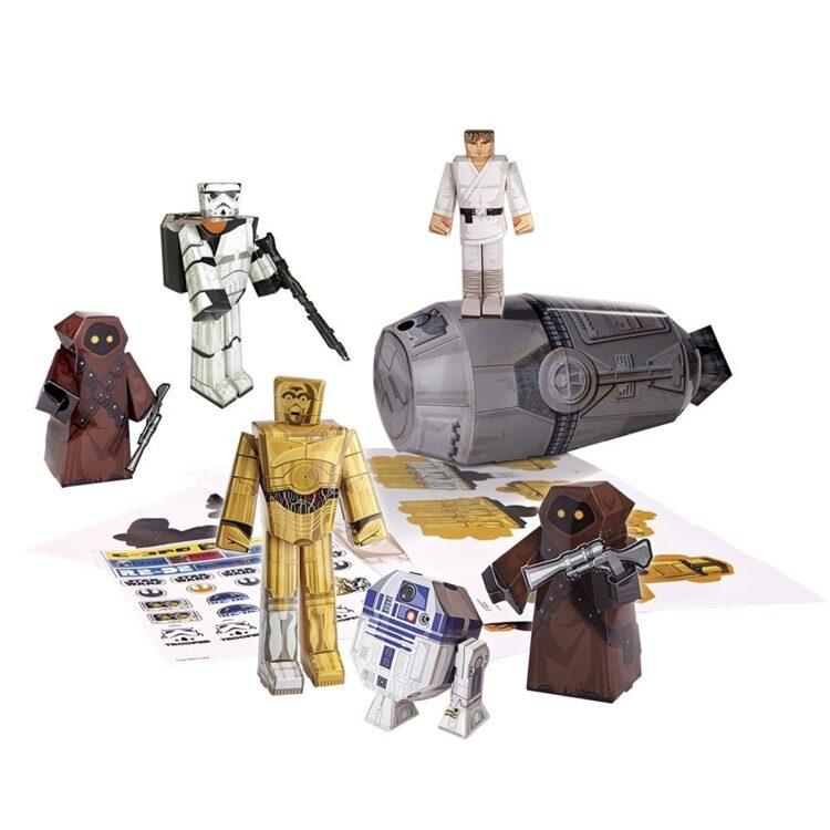 Paper Craft Star Wars desert adventure