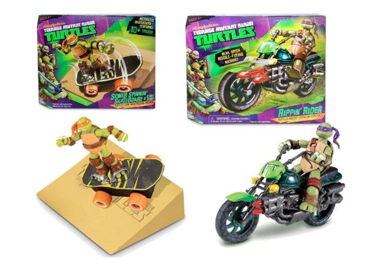 Turtle Ninja Veicoli