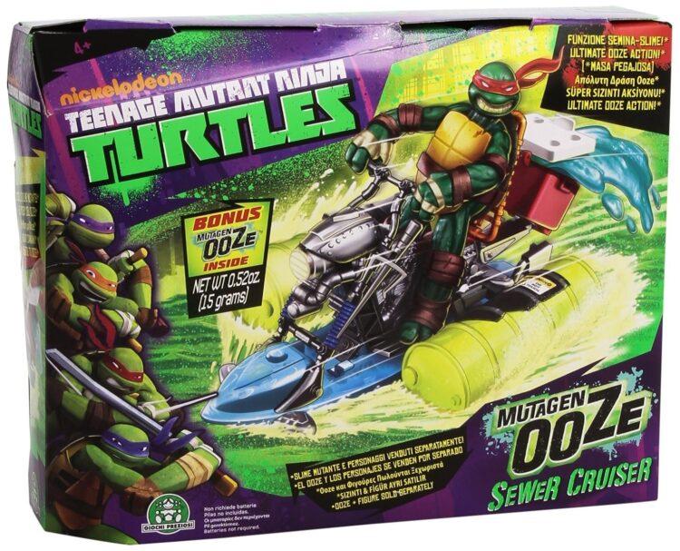 Turtles veicolo lancia Slime