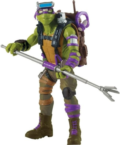 Action figures Ninja turtles Fuori dall'ombra