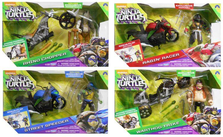Turtles Veicolo con Personaggio