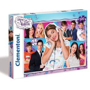 Puzzle Violetta Disney 500 pz