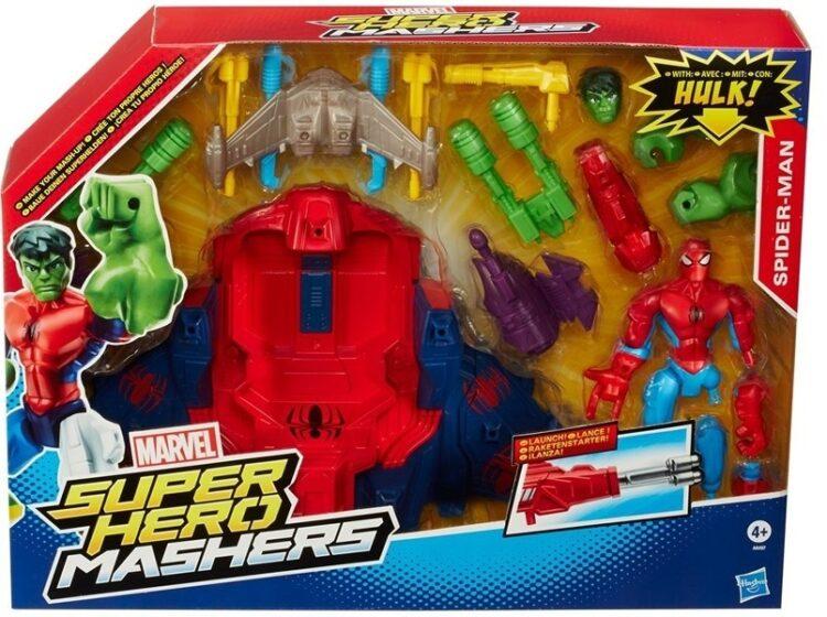 Spiderman - Hero Mashers Spider Smash Jet