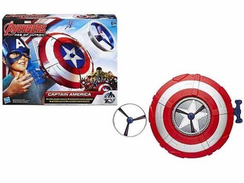 Scudo lancia-dischi Capitan America