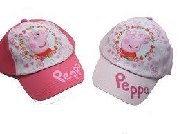 """Cappellino con visiera Peppa Pig """"Fiorellini"""""""