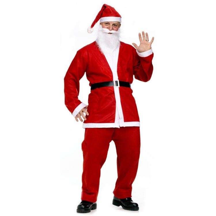 Costume adulto Babbo Natale low cost