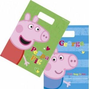 Sacchetti per regalini Peppa Pig