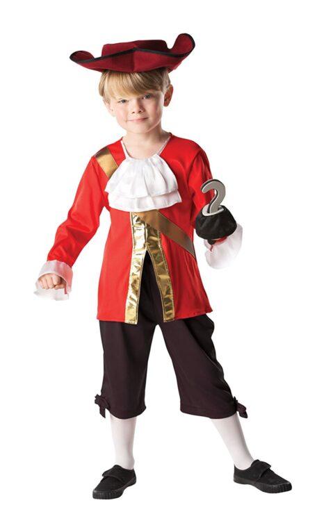 Costume bimbo Capitan Uncino 5-6 anni