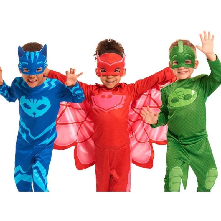 Costume carnevale Pj Masks Gufetta (4-6 anni) classic