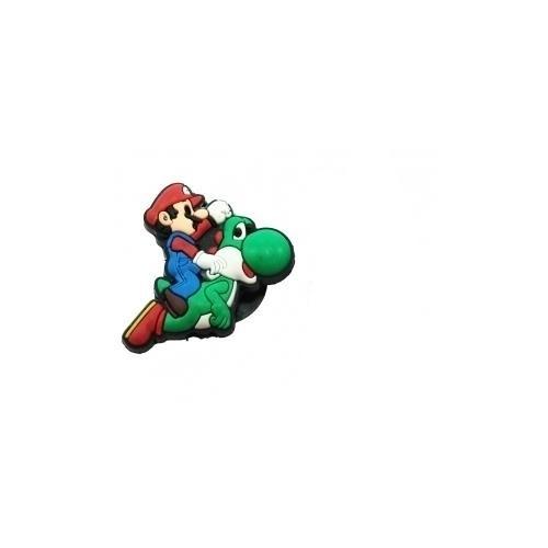 Jibbitz per Crocs Super Mario e Yoshi