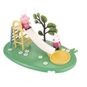 """Playset Peppa Pig al Parco Giochi """"Lo scivolo"""""""