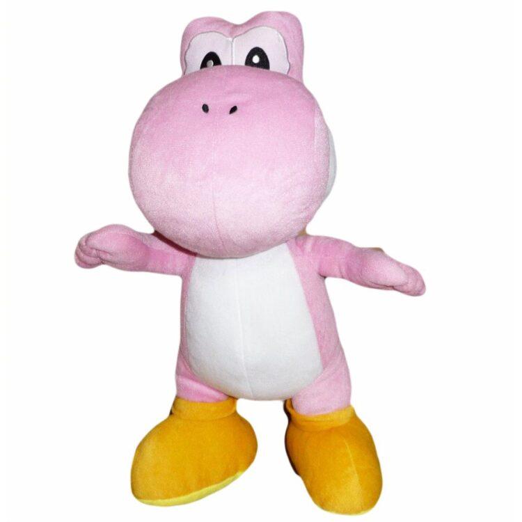 Peluche Super Mario Yoshi rosa 50 cm