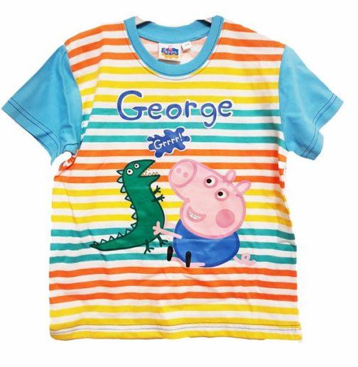 T-shirt bimbo George e il Dinosauro