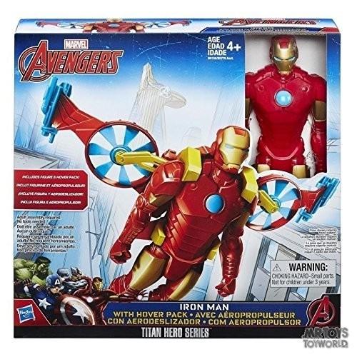 Avengers Titan Heros con veicolo
