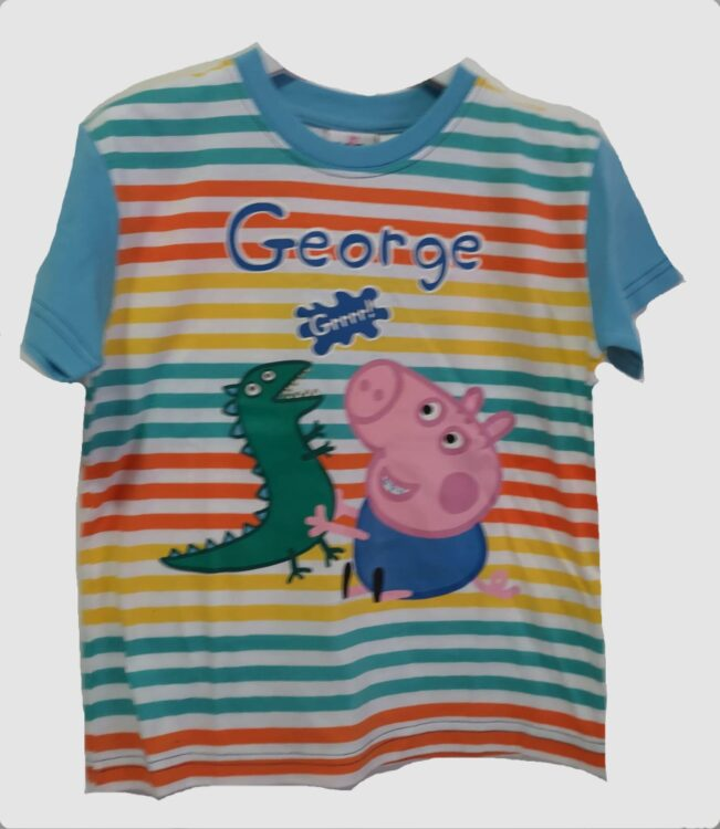 "T-shirt Peppa Pig ""righe"""