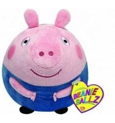 Peluche palla George Peppa Pig 13cm