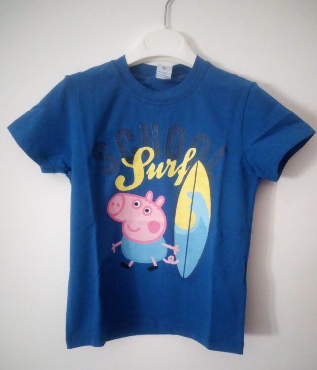 "T-shirt Peppa Pig ""George e il Surf"""