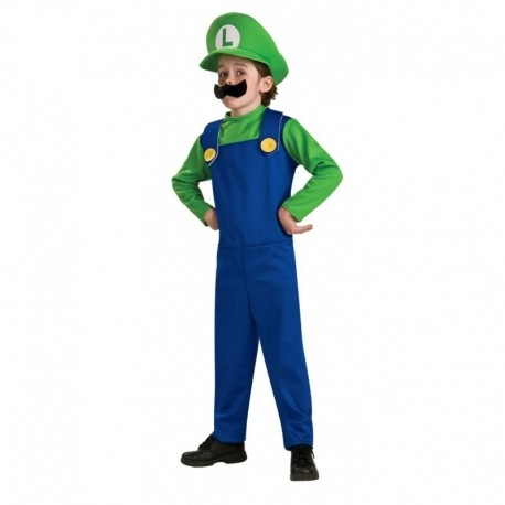 Costume Luigi Nintendo De Luxe