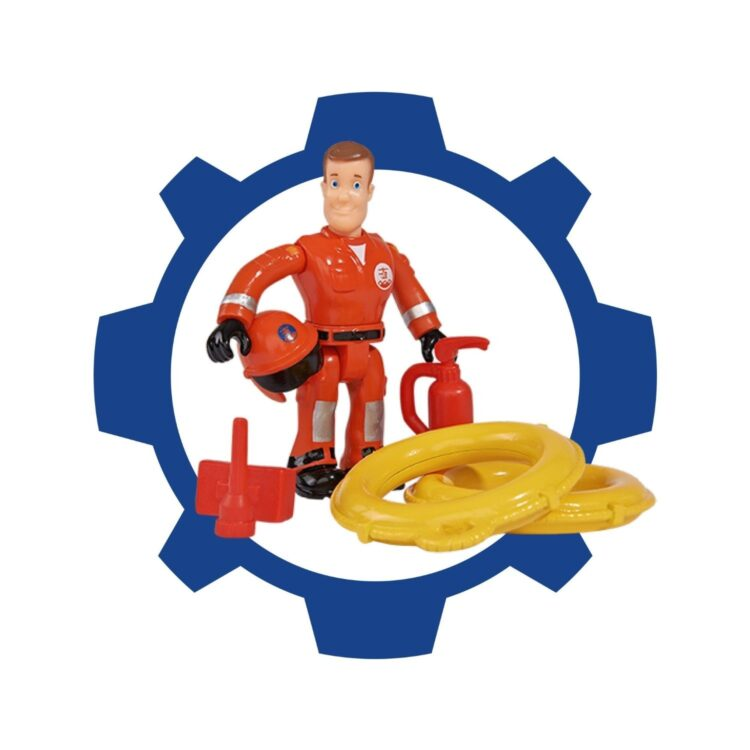 Sam Il Pompiere,Gommone Di Salvataggio