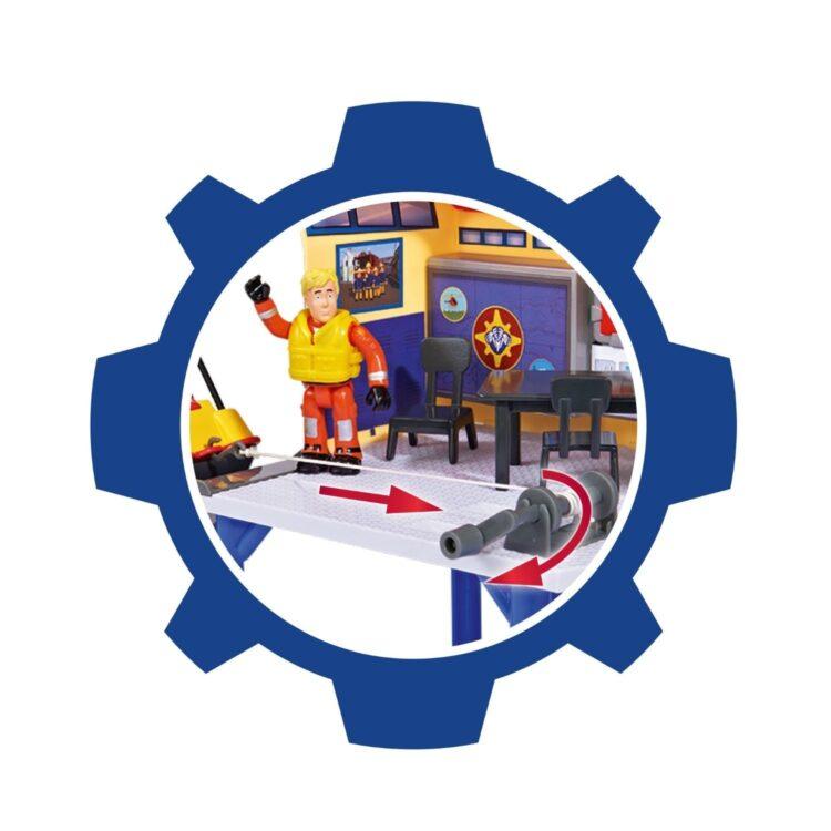Sam Il Pompiere Torretta Di Salvataggio