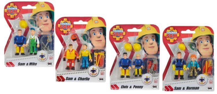 Sam il Pompiere - Blister coppia 2 personaggi