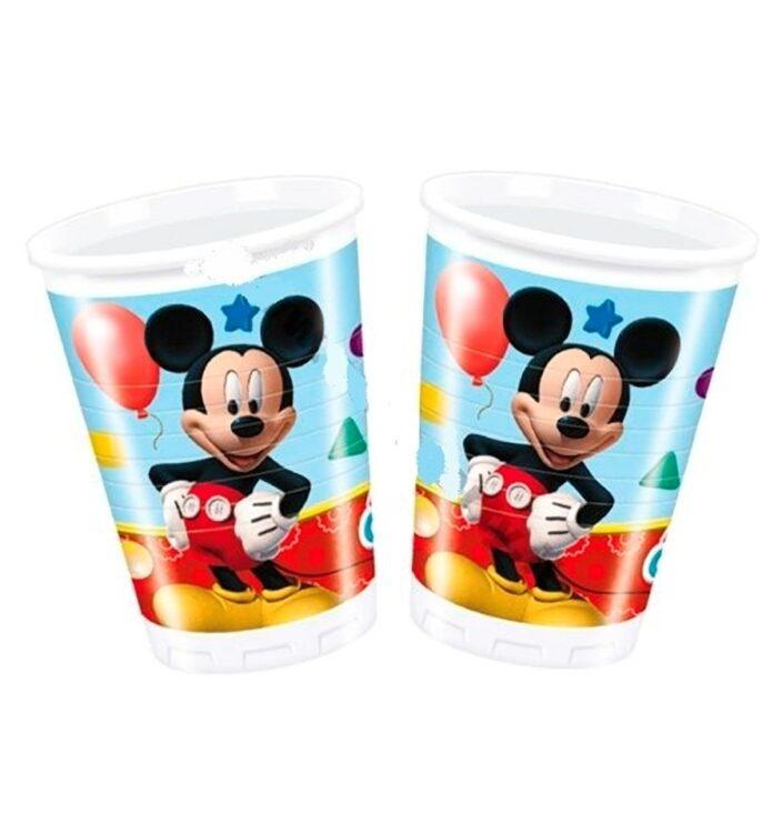 Bicchieri per festa Topolino Playful