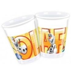 Bicchieri festa Disney Frozen e olaf 8pz