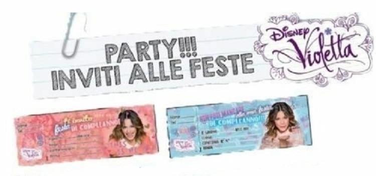 Carnet Inviti Festa Violetta