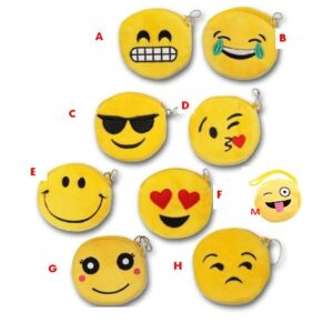 Portamonete peluche Emoji