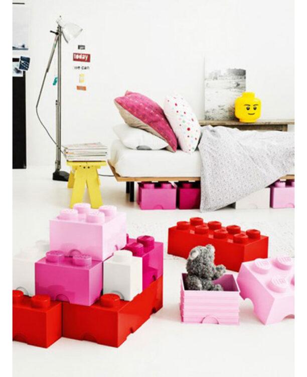Contenitore Mattoncino Lego Blu