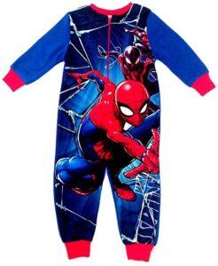 Pigiama intero felpato Spiderman